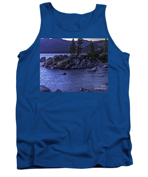 Sand Harbor South Tank Top by Nancy Marie Ricketts