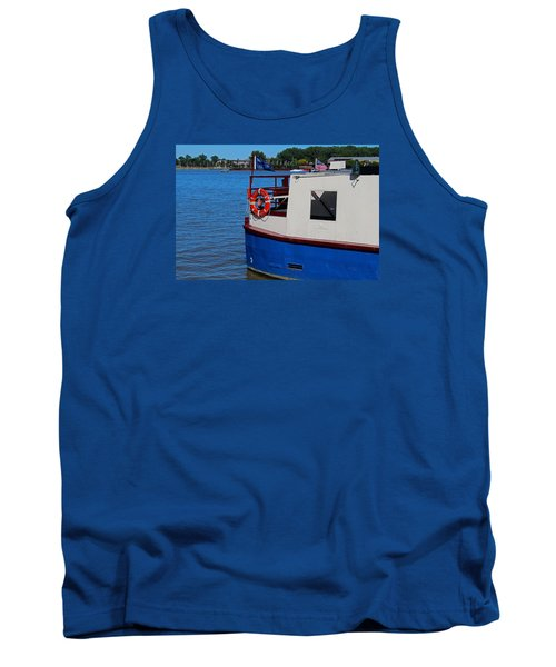Tank Top featuring the photograph Sandpiper On The Maumee by Michiale Schneider