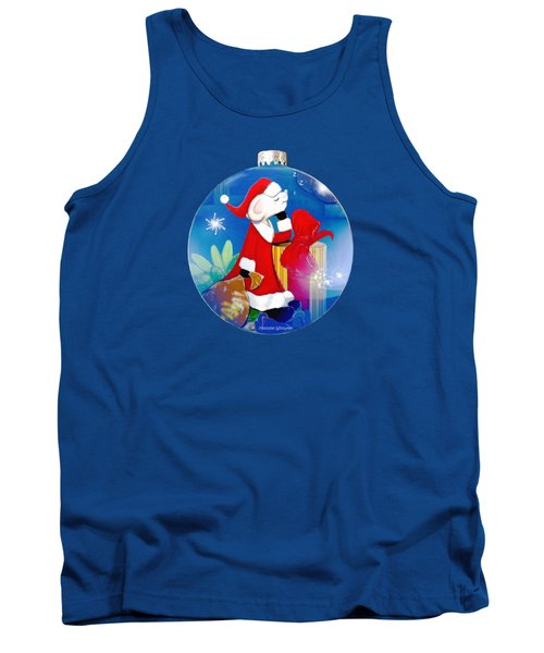 Santa Mouse Child's Shirt Tank Top