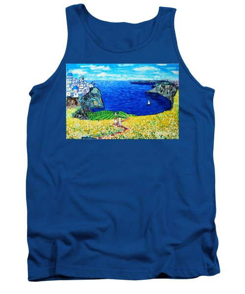Santorini Honeymoon Tank Top