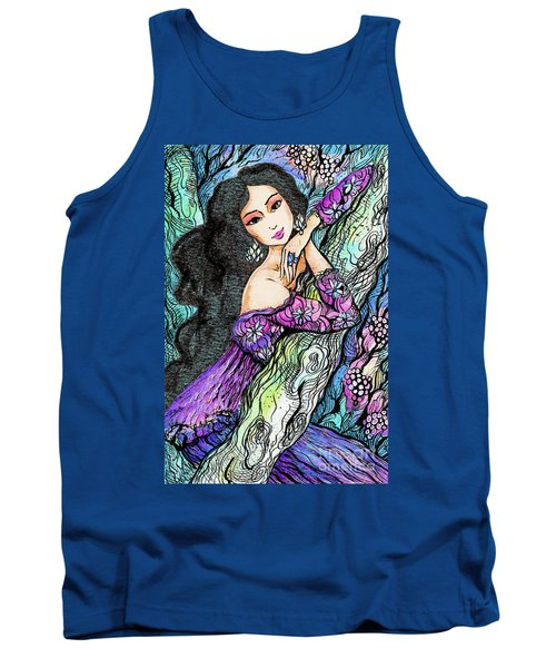 Sapphire Forest Tank Top