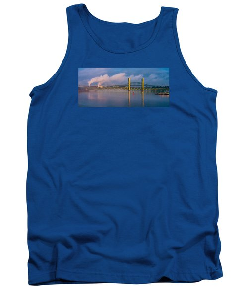 Sarah Long Bridge At Dawn Tank Top