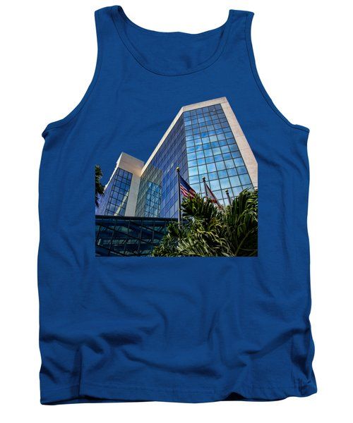 Sarasota Architecture Glass Transparency Tank Top