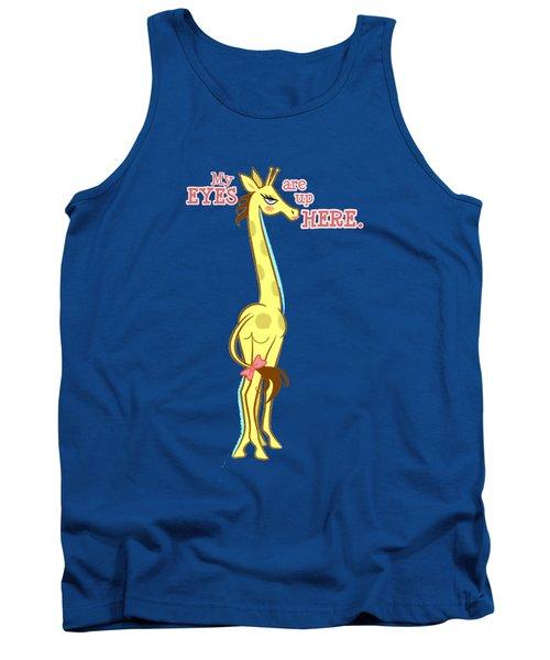 Sassy Giraffe Tank Top by J L Meadows