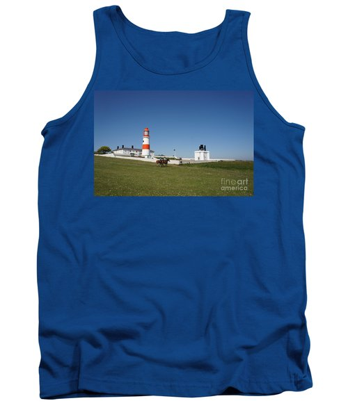 Souter Lighthouse And Foghorn. Tank Top