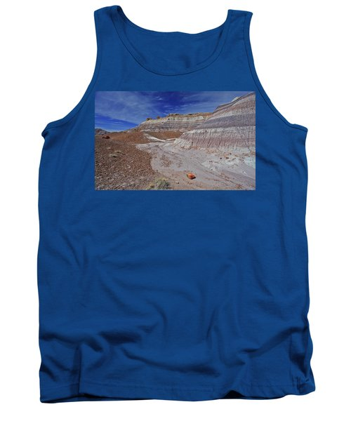 Tank Top featuring the photograph Scattered Fragments by Gary Kaylor