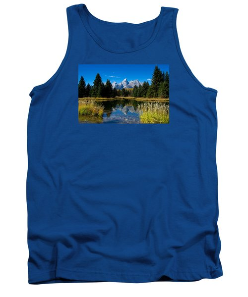 Schwabacher Landing Reflection Tank Top
