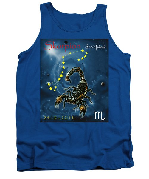 Scorpius And The Stars Tank Top