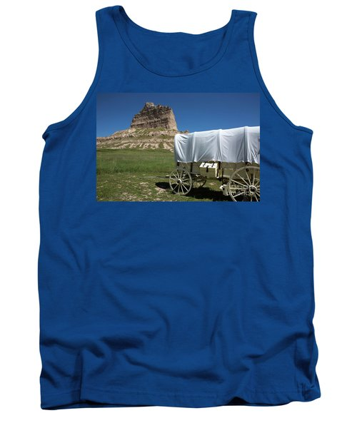 Scotts Bluff National Monument Nebraska Tank Top