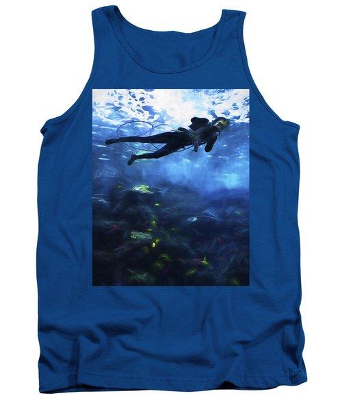 Scuba Diver Tank Top
