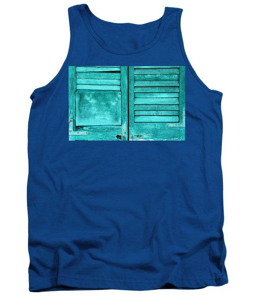 Sea Foam Shutters Tank Top
