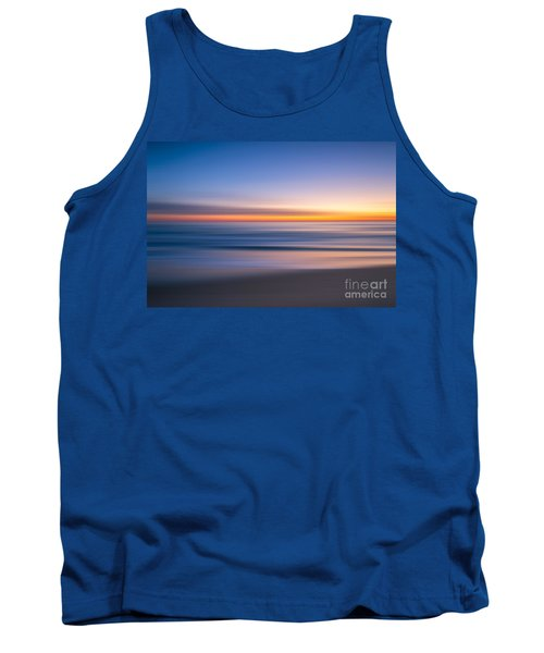 Sea Girt New Jersey Abstract Seascape Sunrise Tank Top