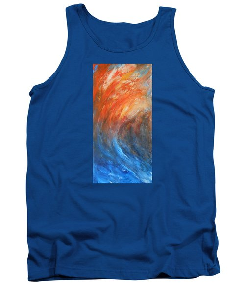 Tank Top featuring the painting Sea Of Passion by Jane See