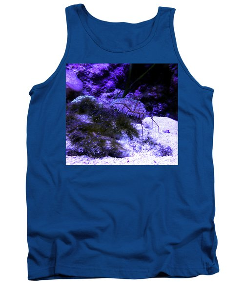 Tank Top featuring the photograph Sea Spider by Francesca Mackenney