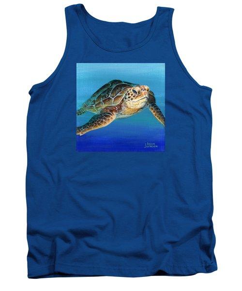 Sea Turtle 1 Of 3 Tank Top