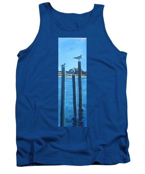 Seagull On A Stick Tank Top