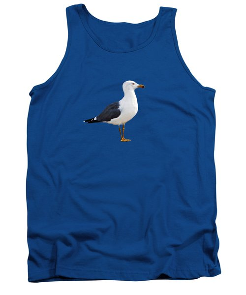 Seagull Portrait Tank Top by Sue Melvin