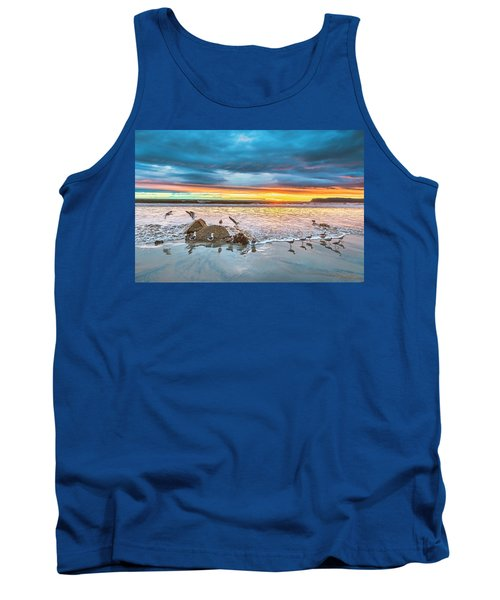 Seagull Sunset Tank Top