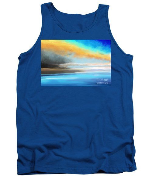 Seascape Painting Tank Top