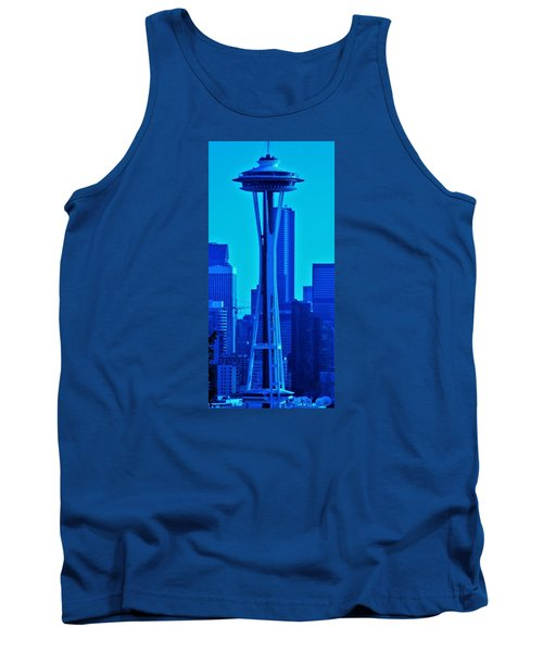 Seattle Blue Tank Top by Martin Cline