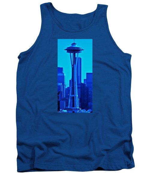Seattle Blue Tank Top