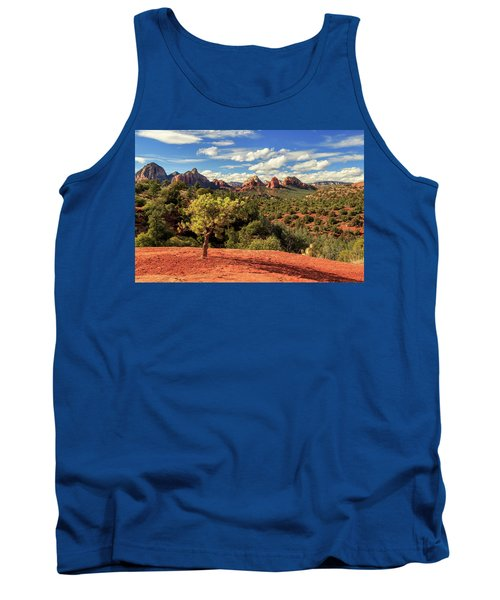 Sedona Afternoon Tank Top by James Eddy
