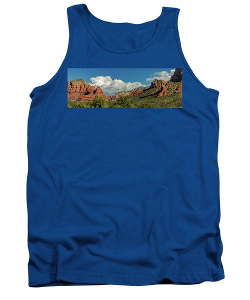Tank Top featuring the photograph Sedona Panoramic II by Bill Gallagher