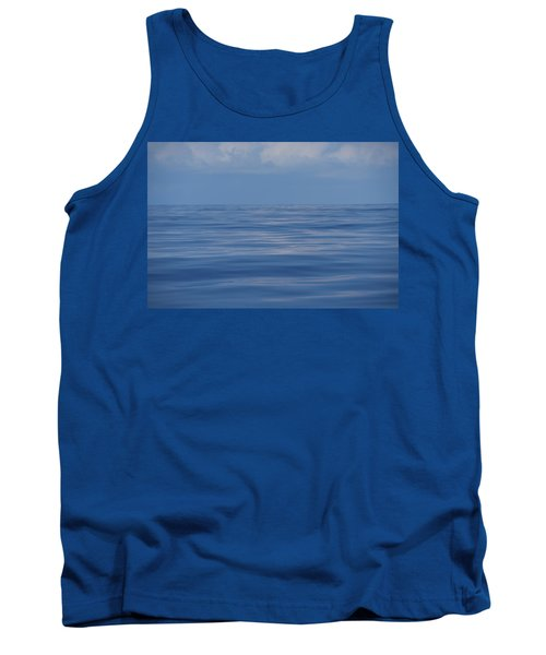 Tank Top featuring the photograph Serene Pacific by Jennifer Ancker