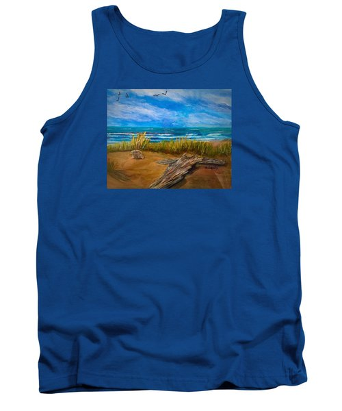 Serenity On A Florida Beach Tank Top