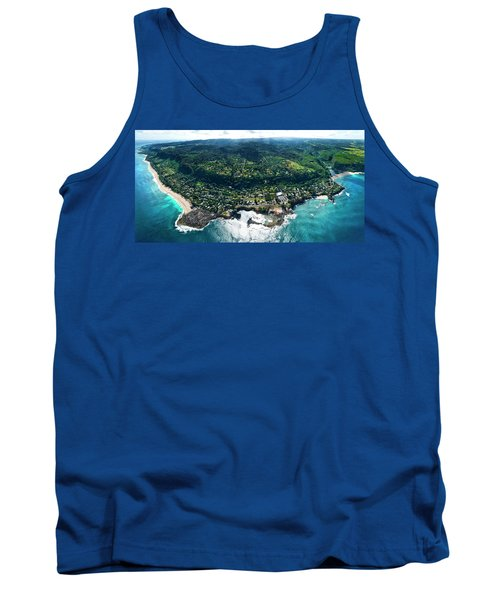 Sharks Cove Overview. Tank Top