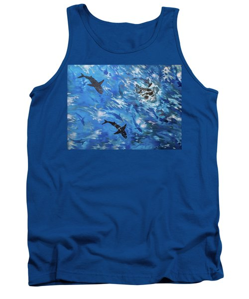 Sharks#3 Tank Top