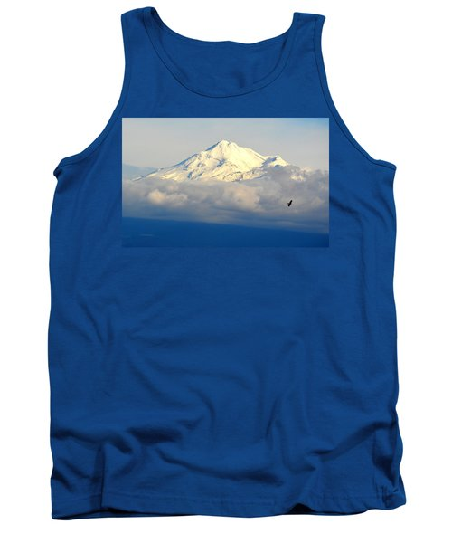 Shasta Near Sunset Tank Top by AJ Schibig