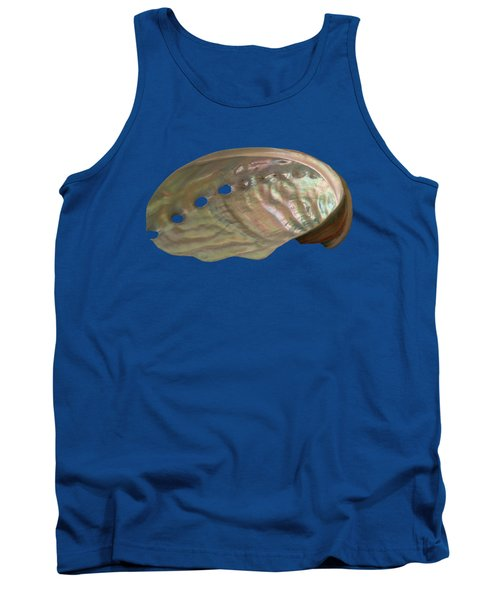 Shell Transparency Tank Top