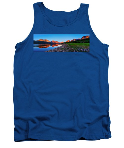 Tank Top featuring the photograph Sherburne Shore Sunrise Panorama by Greg Norrell