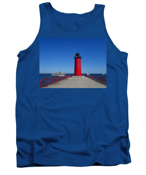 Ships Passing In Plain Sight Tank Top