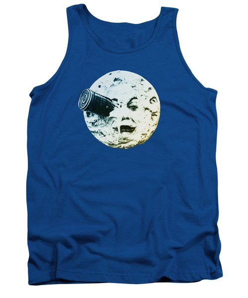 Tank Top featuring the photograph Shoot The Moon by Bill Cannon
