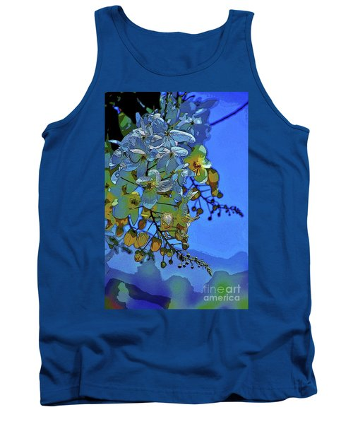 Shower Tree Exposed Tank Top by Craig Wood