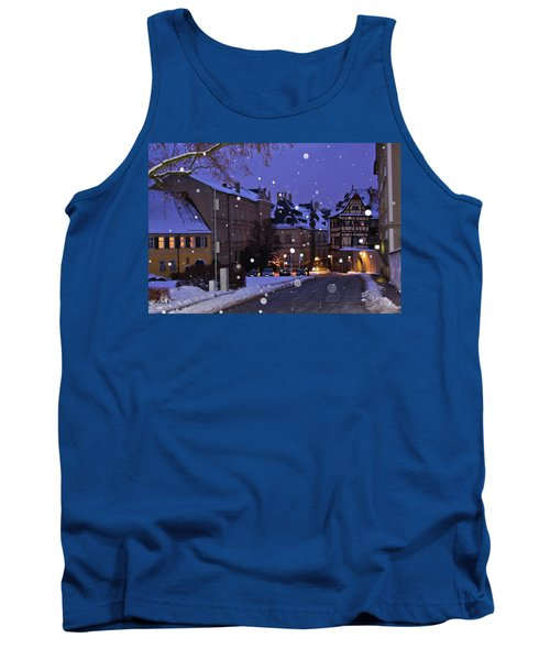Silent Night In Bamberg, Germany #2 Tank Top