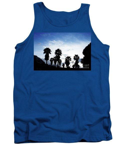 Silhouette In Tropea Tank Top