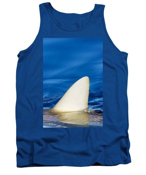 Simple Shark Fin Tank Top