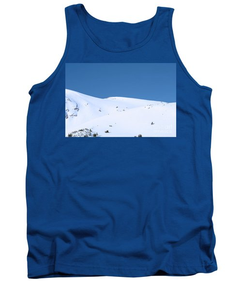 Tank Top featuring the photograph Simply Winter by Juli Scalzi