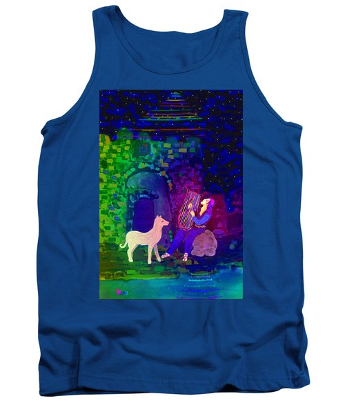 Singing At The Gates Tank Top