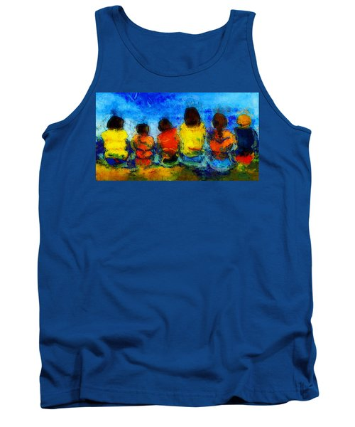 Six On The Shore  Tank Top