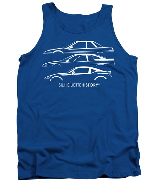Six Stars Sports Coupe Silhouettehistory Tank Top