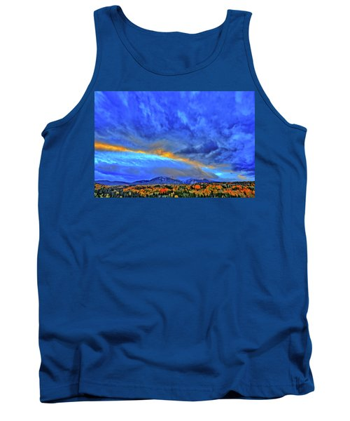 Tank Top featuring the photograph Sky Fall by Scott Mahon