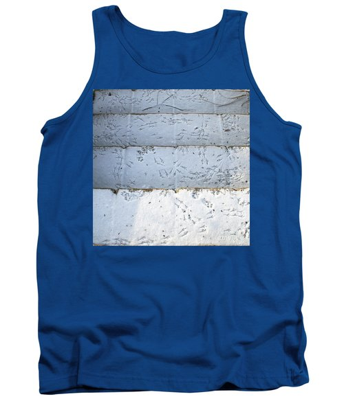 Snow Bird Tracks Tank Top