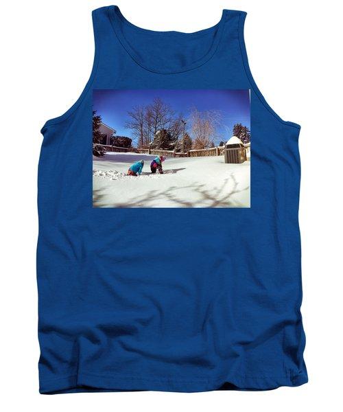 Snow Day Tank Top