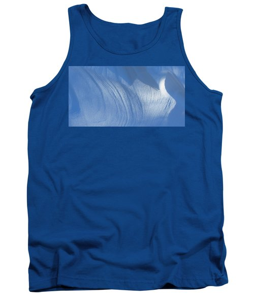 Snow Sculpted By The Wind Tank Top