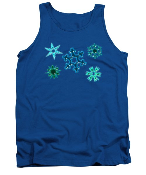 Snowflake Pattern Tank Top