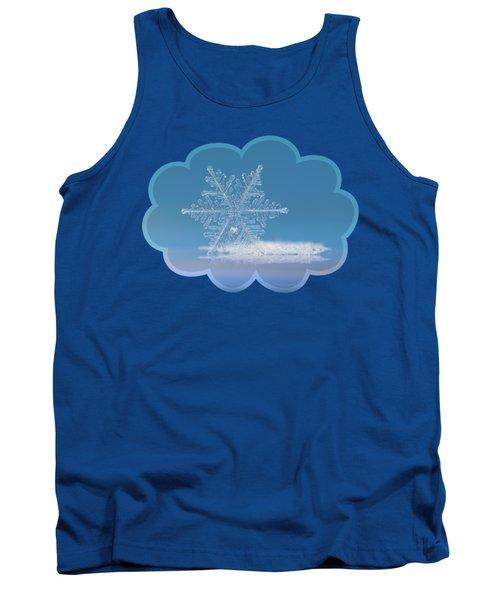 Snowflake Photo - Cloud Number Nine Tank Top